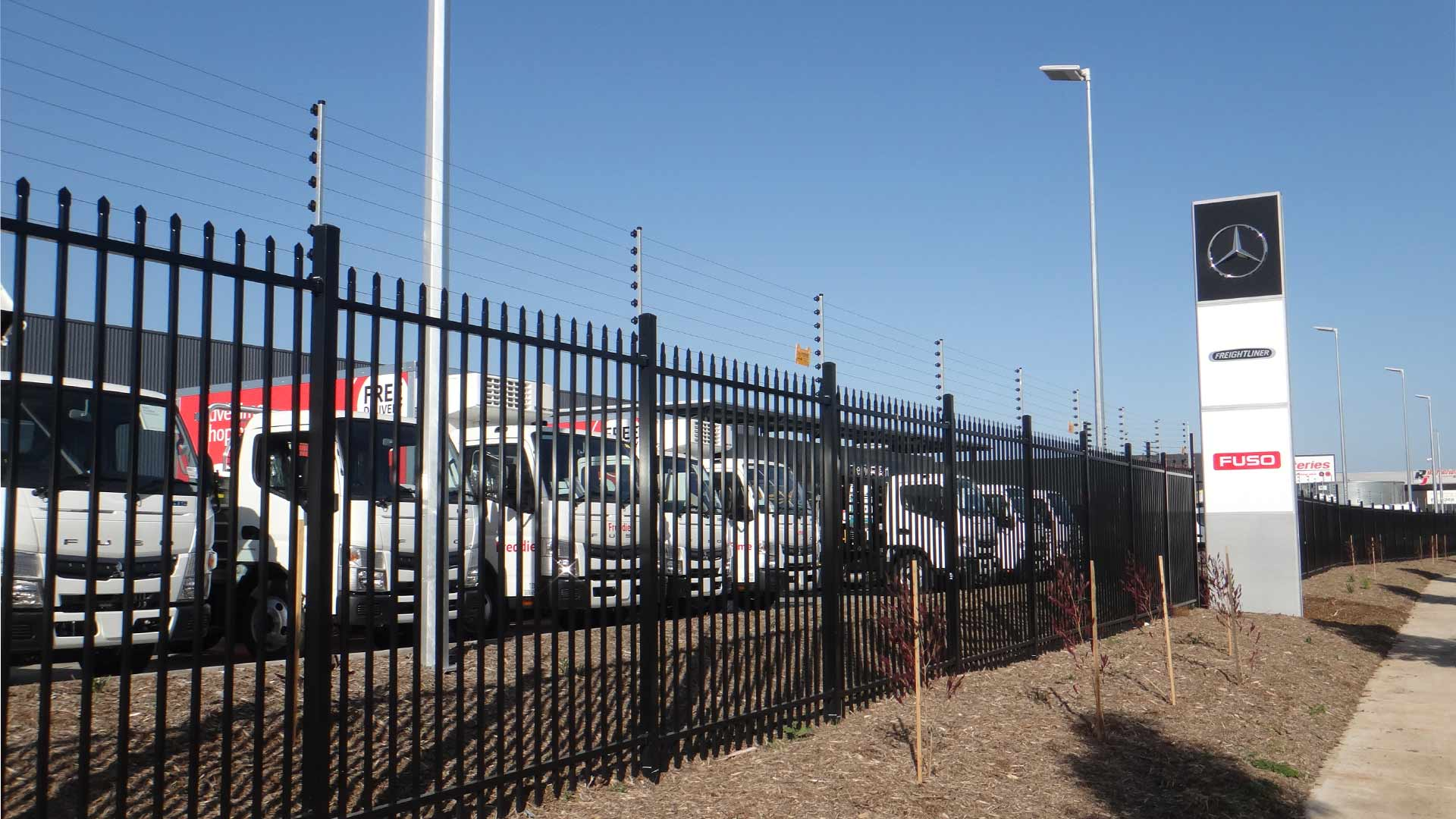 victorian electric fencing, monitored electric fencing